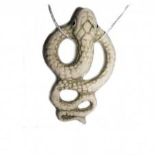 """Аромакулон """"Змейка"""" шликерный керамический"""