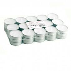 Свечи в гильзе для аромалампы 9 г белые набор 45 шт