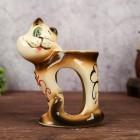 """Аромалампа """"Хитрый кот с сердечком"""" керамическая"""