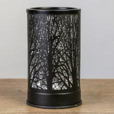 """Аромасветильник (аромалампа) """"Деревья"""" черный электрический с выключателем"""